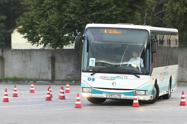В Калининградской области выбрали лучшего водителя автобуса.