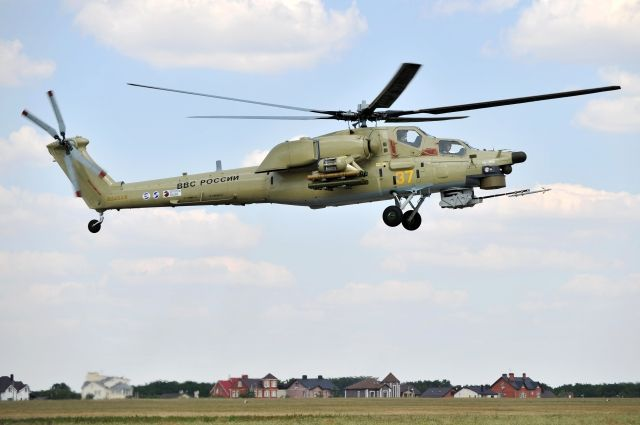 «Роствертол» изготовил первую партию Ми-28УБ для МинобороныРФ