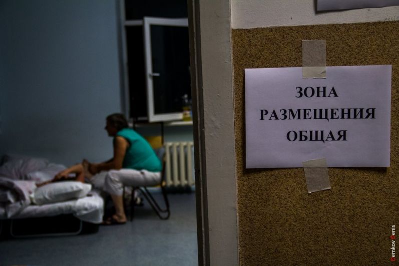 В ростовских школах создано четыре пункта временного размещения для оставшихся без крова.
