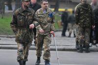 Украинские военные, принимавшие участие в боевых действиях на Донбассе.