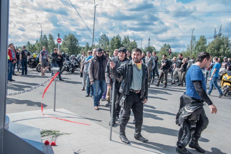 Анатолий Дрянков, один из инициаторов установки стелы.