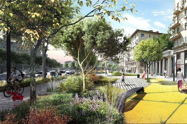 Власти обещают: Садовое кольцо скоро обзаведётся настоящими садами и будет соответствовать своему названию.