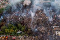 В историческом центре Ростова-на-Дону за полдня выгорел целый микрорайон.