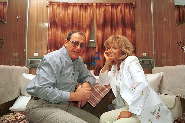 Эммануил Виторган и Алла Балтер, 1997 г.