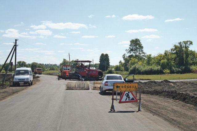Новая дорога свяжет село Большие Туляны и Рассказово.
