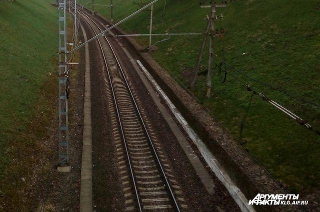На перегоне под Калининградом поезд сбил мужчину.