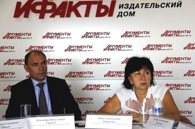 Владимир Гордеев и Нина Абаринова.