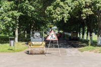 В Омске продолжается масштабный ремонт дорог.