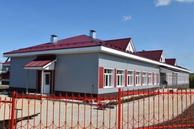 Новая школа в селе Юдиха