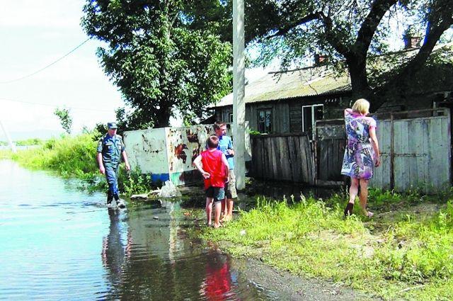 Дожди августа принесли немало проблем жителям края