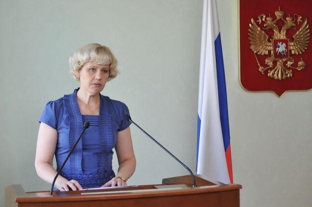 И.о. министра труда и миграционной политики УР Надежда Губская.