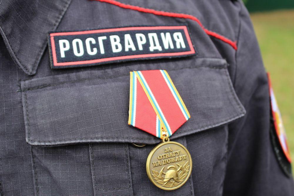 Медали «За отвагу на пожаре» получили всего 2 человека.
