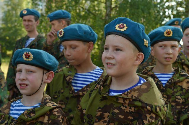 Юные жители Воткинска.