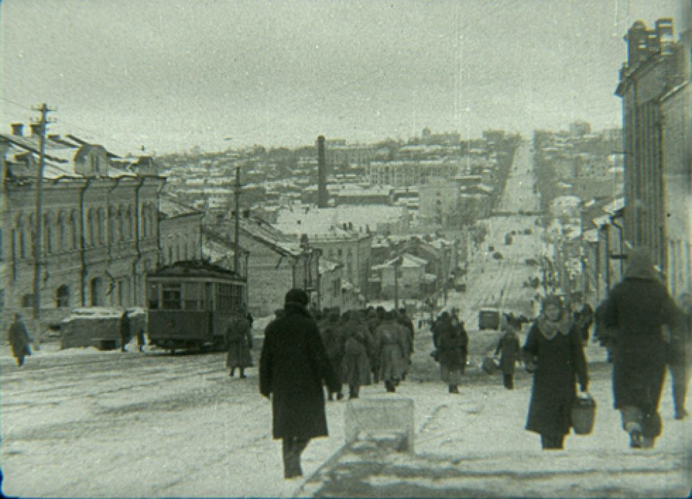 Центр Курска после освобождения
