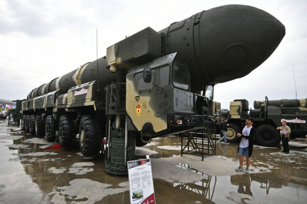 Пусковая установка «Тополь».