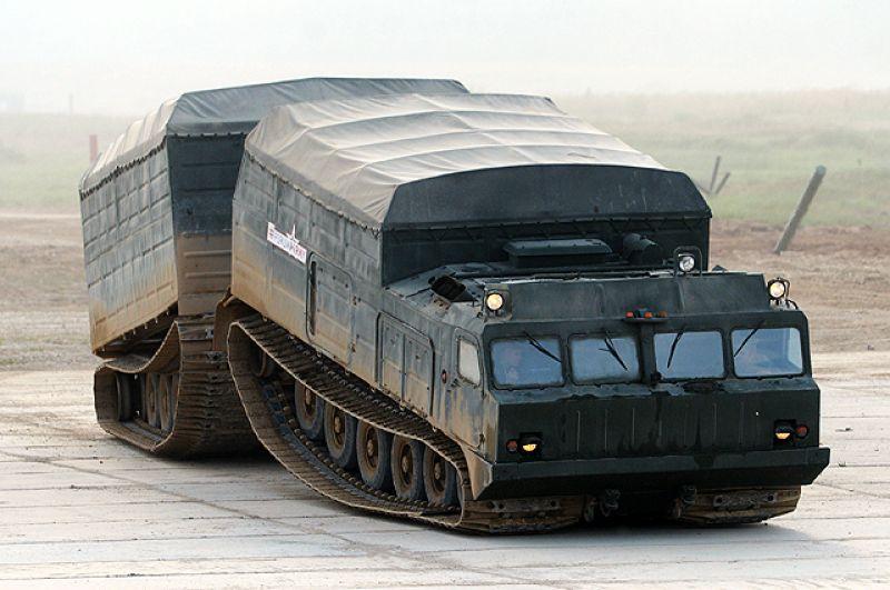 Двухзвенный вездеход ДТ-30 «Витязь».