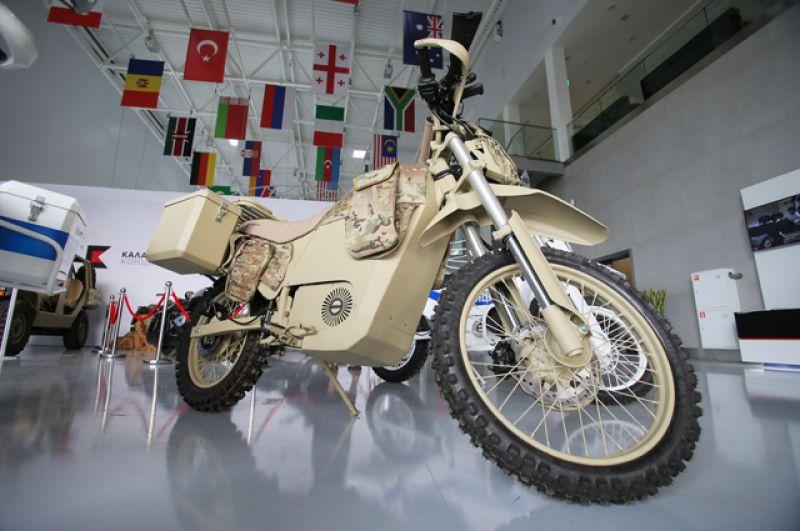 Мотоцикл, разработанный концерном «Калашников».