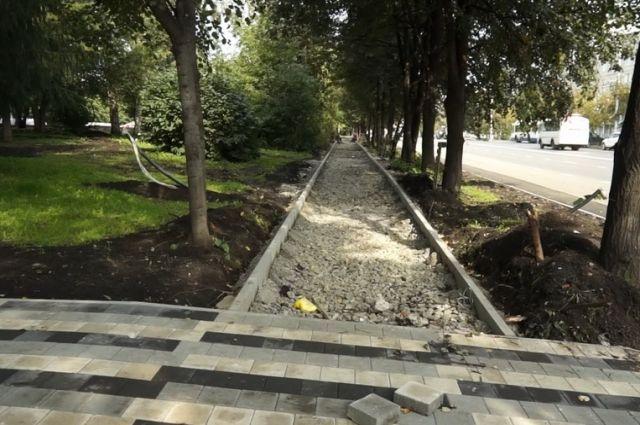 На бульваре Строителей в Кемерове появится новая велодорожка.