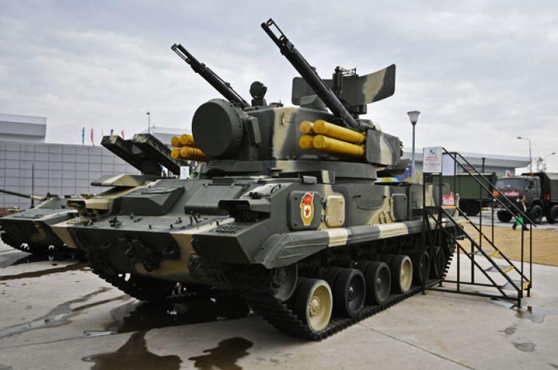 Зенитный пушечно-ракетный комплекс «Тунгуска».