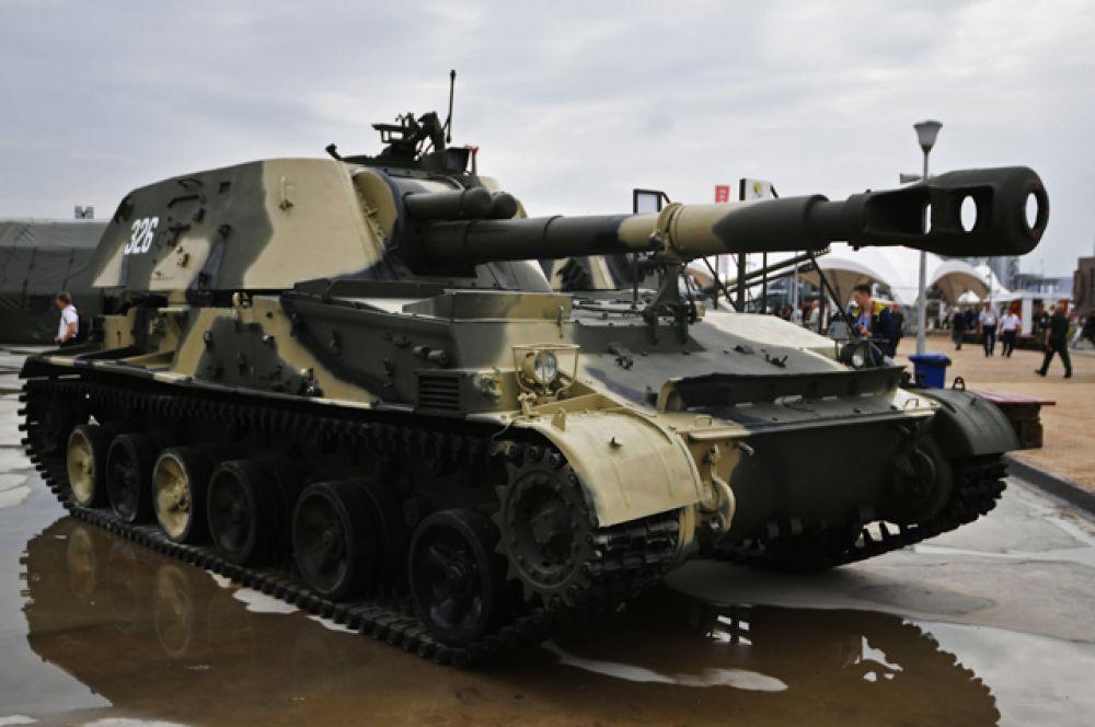 152-мм самоходная гаубица 2С3М «Акация».