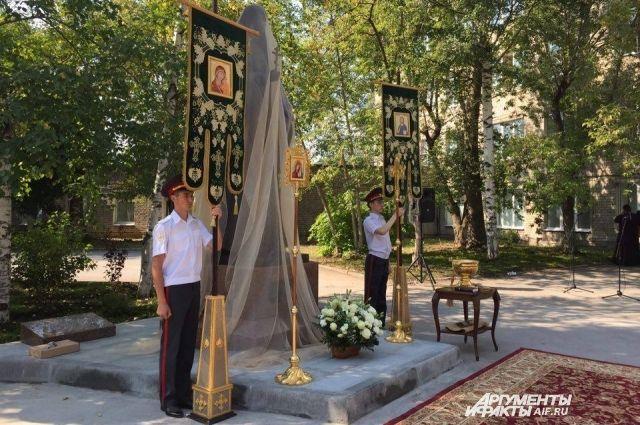 ВПерми открыли монумент княгине Елизавете Фёдоровне