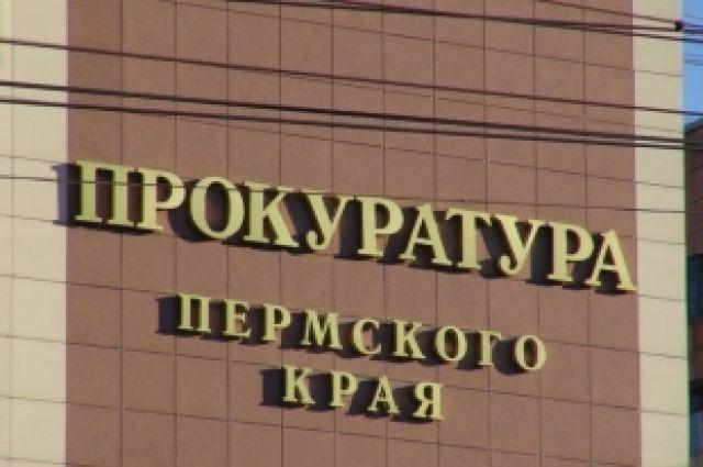 Прокуратура Пермского края направлила дело на рассмотрение в Дзержинский районный суд.