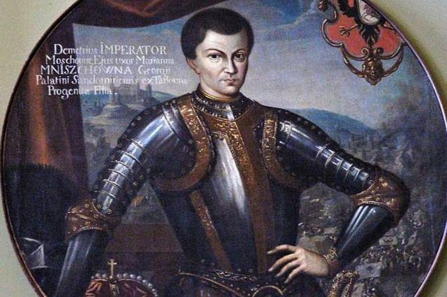 Портрет Лжедмитрия I.