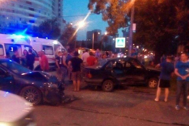 ДТП произошло на перекрёстке улиц Мира и Советской Армии.