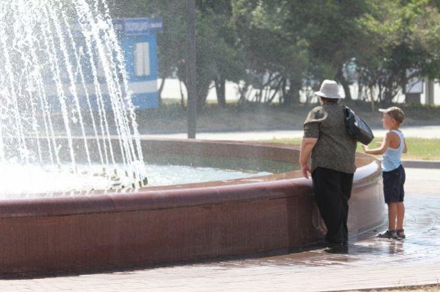 Во второй половине июня долго стояла аномальная жара.