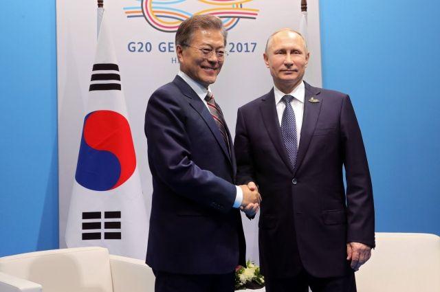 Президенты Российской Федерации иЮжной Кореи встретятся осенью воВладивостоке