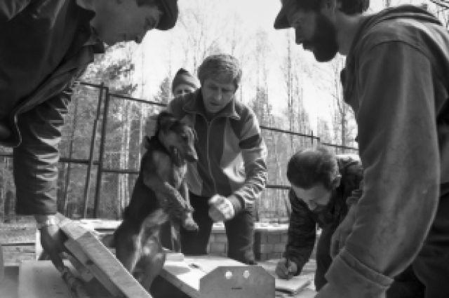 ВКрасноярском крае живодеры убили щенка наглазах удетей