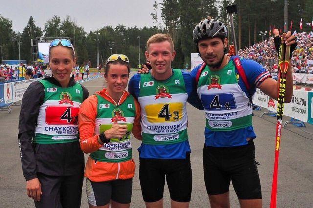 Ульяна Кайшева, Светлана Слепцова, Алексей Волков и Антон Шипулин одержали уверенную победу.