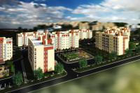 Первая очередь включает строительство 18 многоэтажных домов с жилой площадью более 50 тысяч квадратных метров.