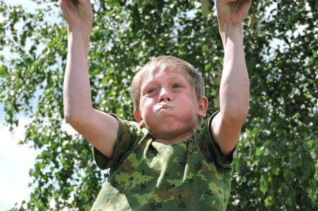 Ямальские дети шести-восьми лет готовятся к сдаче ГТО