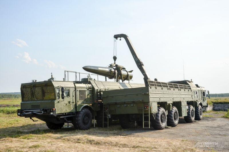 Оперативно-тактический комплекс «Искандер-М».