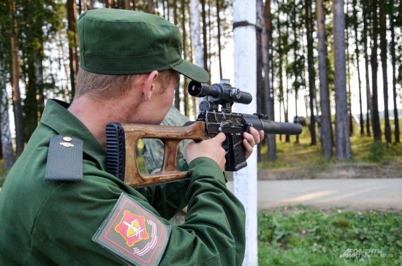 Винтовка снайперская специальная. Или просто - винторез.
