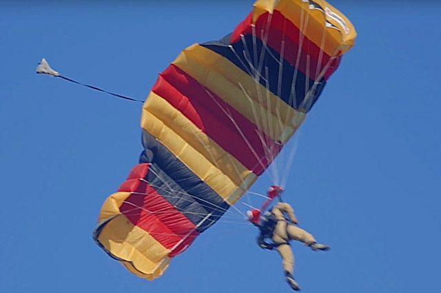 Кубок главы района по парашютному спорту проходит в Увате