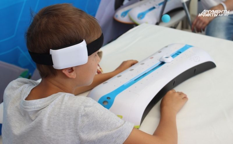 Для детей работали множество познавательных и развлекательных площадок.