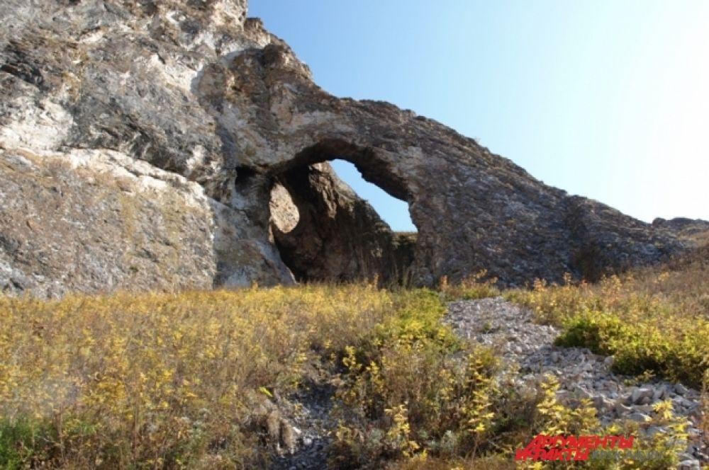 Пещера Трехглазка в конце Тропы Предков.