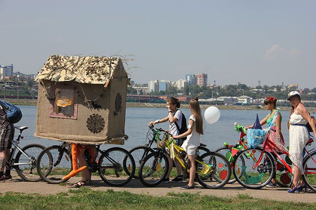 В Тюмени пройдет велозаезд «Взбодрись перед школой!»