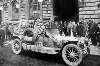 «Руссо-Балт» был первым автомобилем, добравшимся до вершины Везувия.