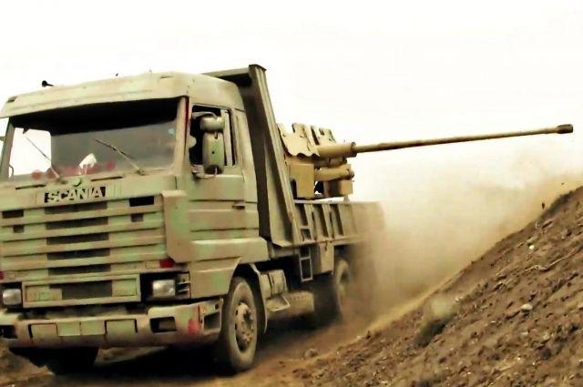 Армия САР при помощи ВКСРФ разгромилаИГ вГанем-Али