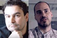 Мануэль Анхель Састре и Антонио Памплиега.