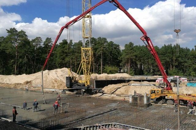 Современный реабилитационный центр строят вреликтовом лесу вБарнауле