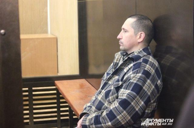 Обвиняемый Сергей Егоров.