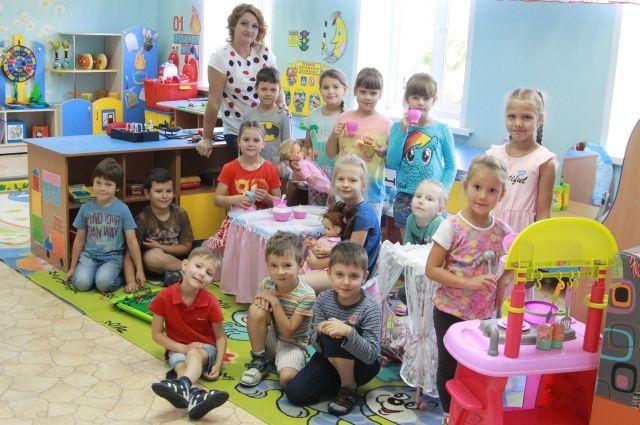 Группа «Жемчужинка» Детского сада №16.