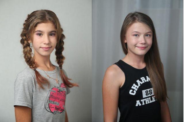 Алена и Надя.