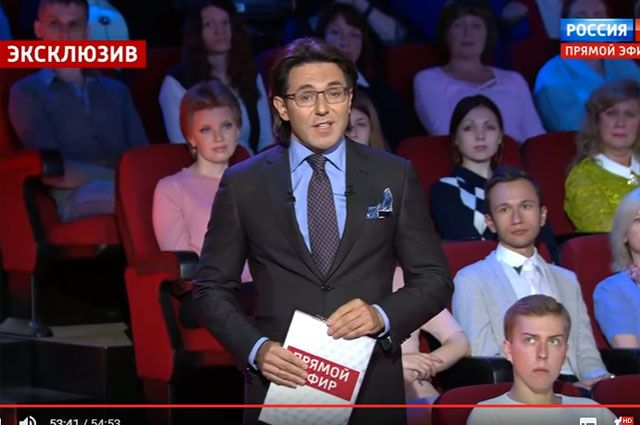Андрей Малахов в программе «Андрей Малахов. Прямой эфир».