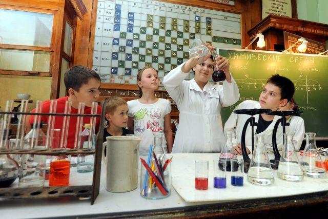 В школе дети получают опыт во многих областях знаний