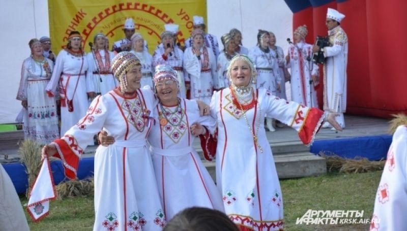 В Красноярском крае - более 11 тысяч чувашей.